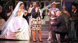 Onstage proposal Cinderella