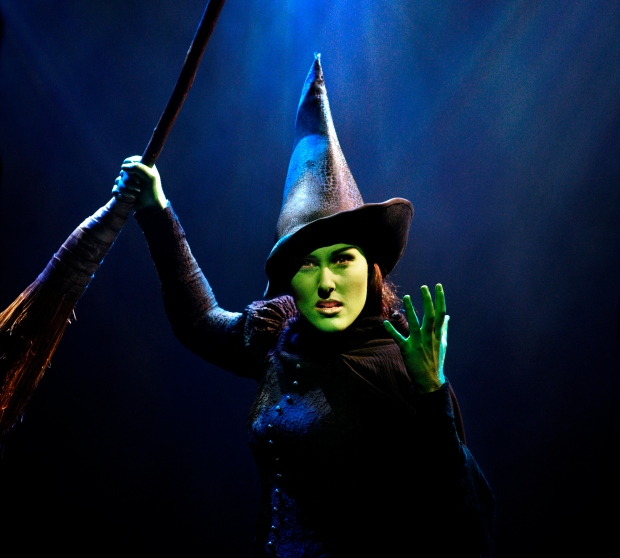 Elphaba (Jemma Rix). Photo Credit: Jeff Busby