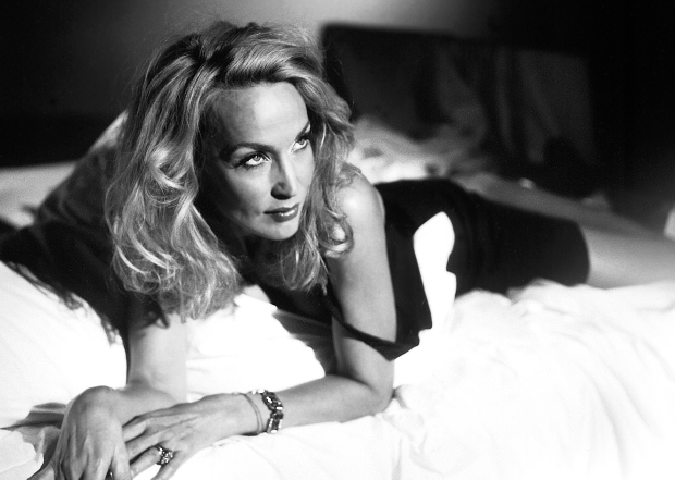 Jerry Hall (Mrs. Robinson) in The Graduate