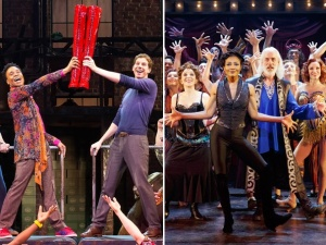 kinky boots and pippin