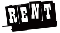 Country 'Hoe-down' Rent Logo