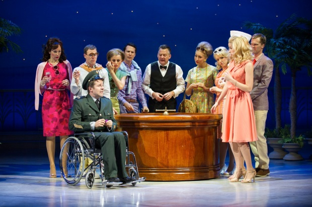 Australian Cast of Dirty Rotten Scoundrels Photo Credit: Kurt Sneddon