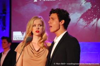Emily Langridge (Cosette) & Euan Doidge (Marius)