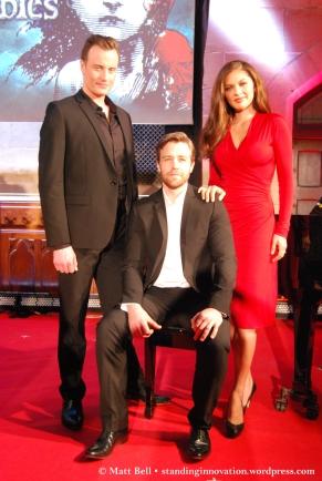 Hayden Tee (Javert), Simon Gleeson (Jean Valjean) & Patrice Tipoki (Fantine)