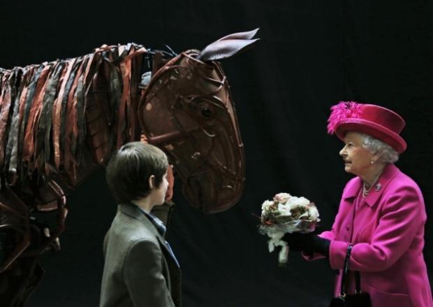 queen war horse