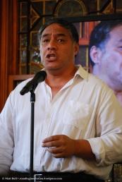 Eddie Muliaumaseali'l performing Old Man River