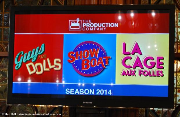 The Production Company 2014 Season
