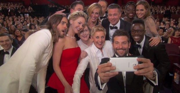 Ellen Samsung Oscar Selfie