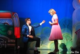 Stephen Mahy (Brad) and Amy Lehpalmer (Janet)