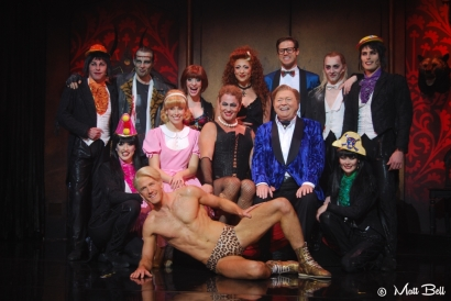 Cast of Rocky Horror Show Melbourne 2015